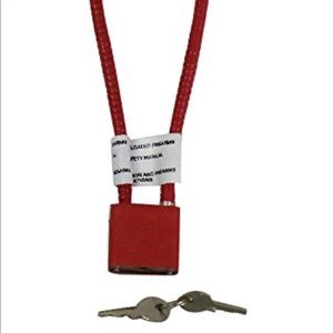 "Other - 15"" Cable Gun Lock - Red"